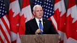 Pence says Canada should work with U.S. on Cuba and Venezuela