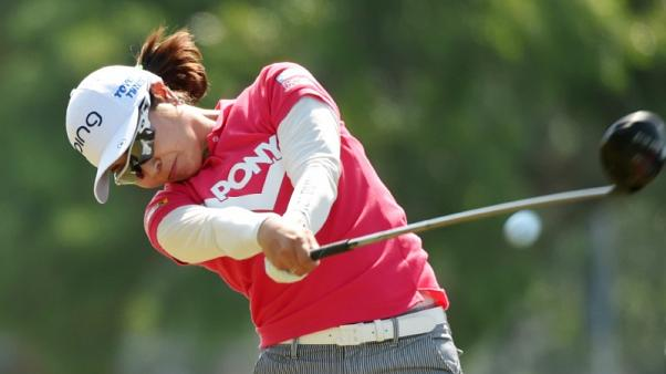 Higa wrestles first-round lead at U.S. Women's Open