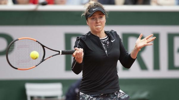 Svitolina to provide early litmus test for Muguruza
