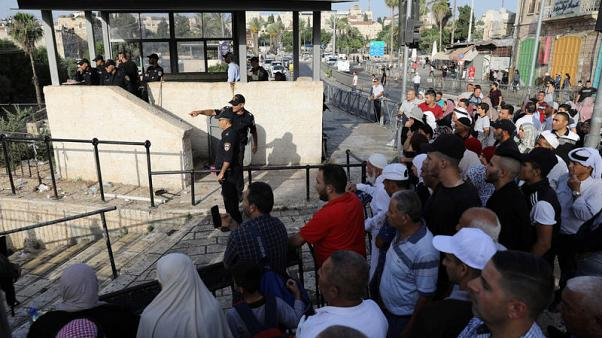 Palestinian stabs Israelis, shot dead by police - spokesman