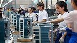 مؤشر رسمي: تقلص أنشطة المصانع الصينية أكثر من المتوقع في مايو