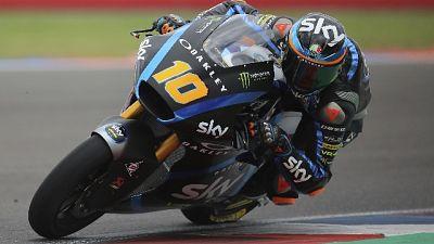Mugello, in Moto2 prime libere a Pasini