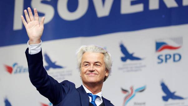 Dutch far-right politician Wilders says Twitter has blocked his account