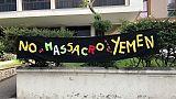 "Nave saudita a Cagliari, ""bombe a Yemen"""