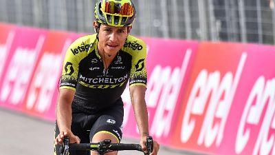 Giro: 19/a tappa, vittoria di Chaves