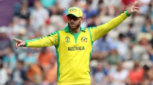 Warner will play in World Cup opener, says Australia skipper Finch