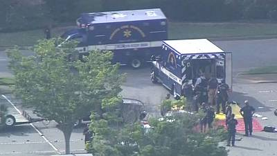 Disgruntled city employee kills 11 in Virginia; suspect also killed