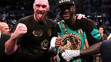 Wilder announces rematch with Fury on Twitter