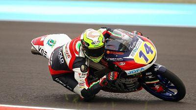 Moto3,Arbolino domina 3/e libere Mugello