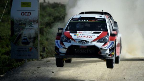 WRC Rallye du Portugal: Tänak et Toyota dominent toujours les débats