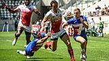 Rugby à VII: les Français, battus par le Japon, débutent mal à Paris