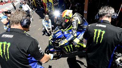 Moto: Mugello, Rossi eliminato in Q1