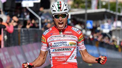Giro: Masnada conquista la 'Cima Coppi'