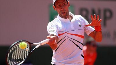 Open Parigi:Caruso ko, Djokovic a ottavi