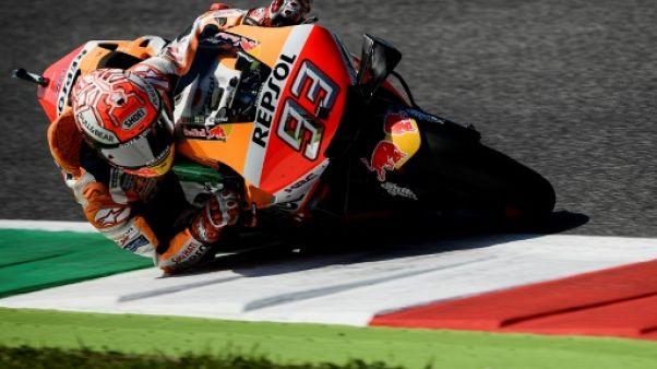 Marquez en pole au Grand Prix d'Italie devant Quartararo