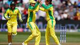 Afghanistan notch up 207 after early wickets tumble against Australia