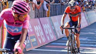 "Nibali ""Carapaz merita maglia rosa"""