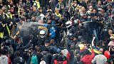 تراجع قياسي جديد في عدد المشاركين في احتجاجات السترات الصفراء بفرنسا