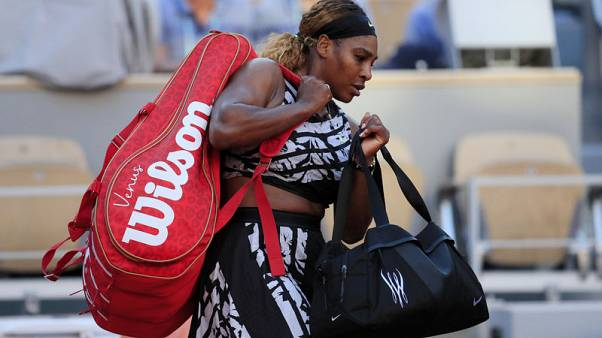 Serena Williams may seek grasscourt wildcard ahead of Wimbledon after defeat