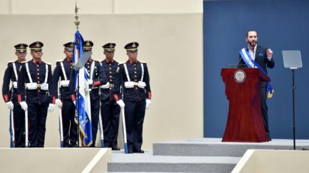 Salvador: le nouveau président, Nayid Bukele, entre en fonction