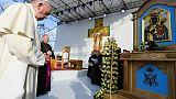 Le pape François à Iasi, en Roumanie, le 1er juin 2019