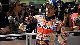 MotoGp: a Marquez il warm up, Rossi 15/o