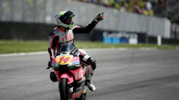 Moto3: première victoire pour Tony Arbolino au Mugello