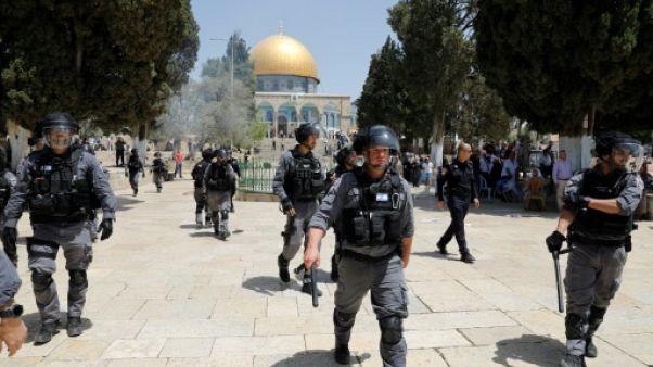 Jérusalem: heurts sur l'esplanade des Mosquées après la visite de nationalistes juifs