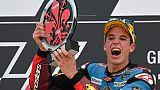 Moto2: victoire d'Alex Marquez qui se rapproche au championnat