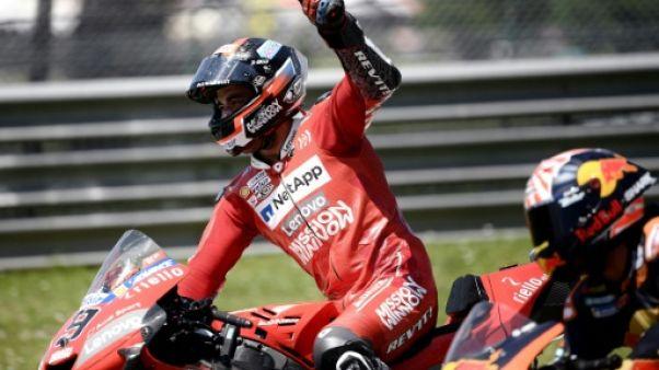 MotoGP: Danilo Petrucci (Ducati) remporte le GP d'Italie devant Marc Marquez (Honda)