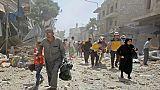 Nouveaux raids meurtriers du régime syrien sur Idleb malgré un appel de Trump
