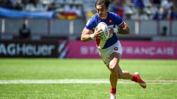 Rugby à VII: la France s'arrache pour battre le Kenya