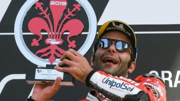 L'Italien Danilo Petrucci remporte le GP d'Italie le 2 juin 2019
