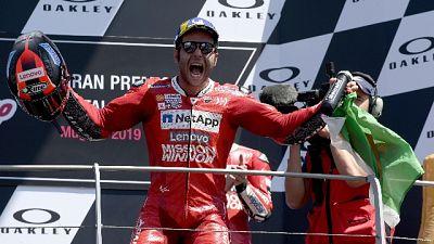 Moto:Terni,è festa per vittoria Petrucci