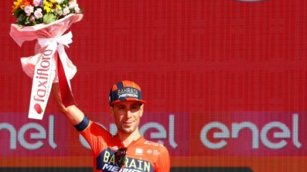 L'Italien Vincenzo Nibali 2e du Tour d'Italie le 2 juin 2019