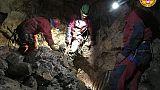Speleologi bloccati in grotta Calabria
