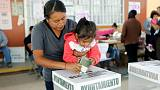 Mexican president's party looks set to win two state governor races