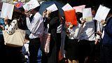 China warns students, scholars about visiting U.S.