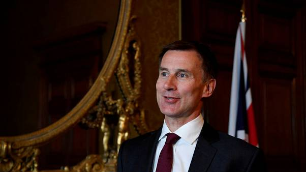 Britain listens to the United States on Huawei, Hunt says