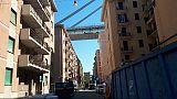 Ponte, via a operazioni per demolizione