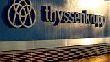 Thyssenkrupp shares fall near 16-year low