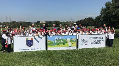 Golf a scuola, il green guarda al futuro
