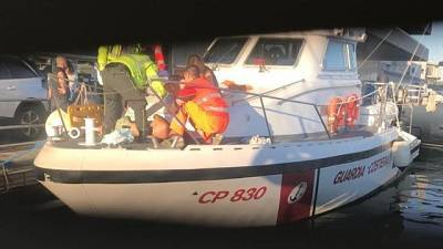 Guardia costiera salva vita a diportista