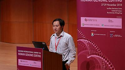 """Rogue Chinese scientist made """"foolish"""" choice in gene-edited babies"""