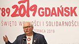 Walesa évoque la chute du communisme et met en garde contre les inégalités