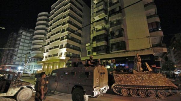 Liban: un assaillant tue quatre membres des forces de sécurité à Tripoli