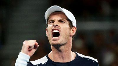 Andy Murray torna in campo, in doppio