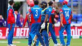 Sri Lanka collapse against Afghanistan in dramatic game