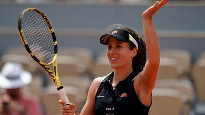 Roland-Garros: Johanna Konta en demi-finales en écartant Sloane Stephens, finaliste l'an passé