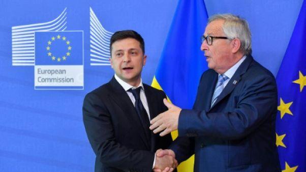 Ukraine: Zelensky demande à l'UE de l'aider à mettre fin à la guerre au nom des enfants